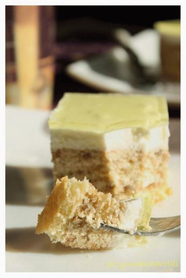Zdjęcie - Ciasto bananowe na zimno - Przepisy kulinarne ze zdjęciami