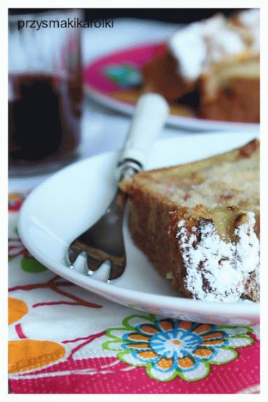 Zdjęcie - Ciasto z rabarbarem - Przepisy kulinarne ze zdjęciami