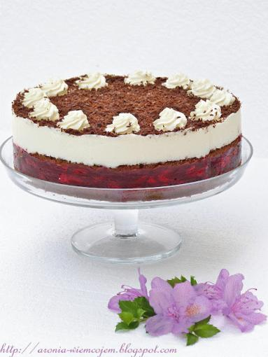 Zdjęcie - Tort czekoladowo-wiśniowy - Przepisy kulinarne ze zdjęciami