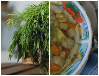 Zdjęcie - Zupa z mlodych warzyw - Przepisy kulinarne ze zdjęciami
