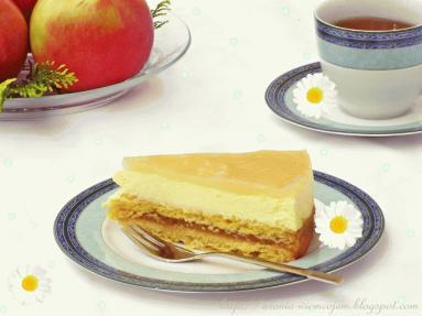 Zdjęcie - Delicja jabłkowo-serowa - Przepisy kulinarne ze zdjęciami