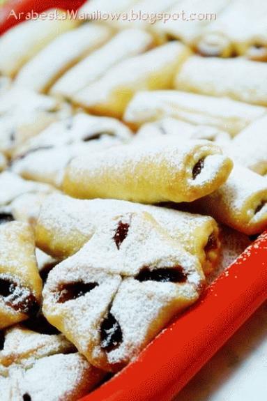 Zdjęcie - Półfrancuskie ciastka z marmoladą - Przepisy kulinarne ze zdjęciami