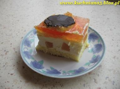 """Zdjęcie - Ciasto """"Delicja""""  - Przepisy kulinarne ze zdjęciami"""