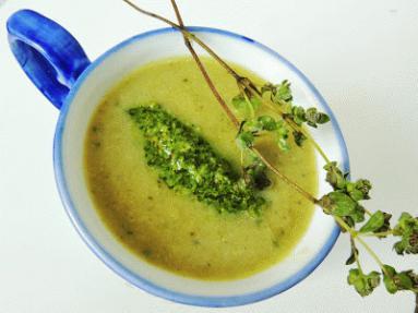 Przepis Zupa Krem Z Cukinii I Pietruszki Z Pietruszkowym Pesto