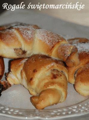 Zdjęcie - Rogale świętomarcińskie - Przepisy kulinarne ze zdjęciami