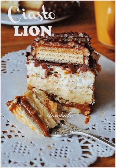 Przepis Ciasto Lion Przepis Bez Pieczenia Proste Przepisy