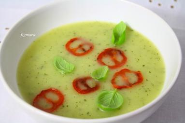 Przepis Zupa Z Cukinii Z Chipsami Z Pomidorow Koktajlowych Proste