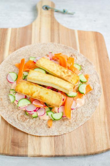 Przepis Wrapy Z Tofu A La Banh Mi Proste I Smaczne Przepisy