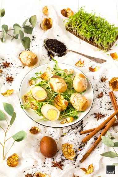 Przepis Chinskie Marmurkowe Jajka Gotowane W Herbacie Proste Przepisy