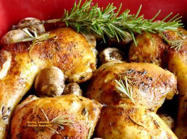 Przepis Chrupiace Udka Kurczaka Z Pieczarkami Proste Przepisy