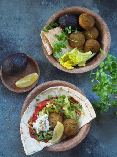 Przepis Falafel Pita I Harrisa Arabska Kanapka Numer Dwa