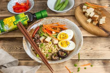 Przepis Ramen Z Jajkiem I Tofu Proste I Smaczne Przepisy