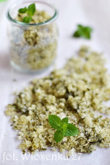 Zdjęcie - Cukier miętowy - Przepisy kulinarne ze zdjęciami