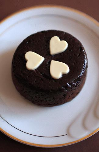Zdjęcie - Fondant au chocolat  - Przepisy kulinarne ze zdjęciami