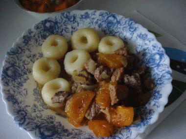 Zdjęcie - Wieprzowina z morelami - Przepisy kulinarne ze zdjęciami