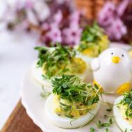 Jajka Faszerowane Przepisy Kulinarne Jajka Faszerowane